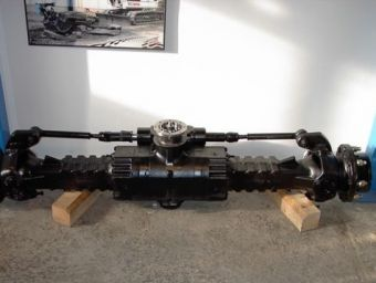 ATLAS 1105 or TW110 AXLE
