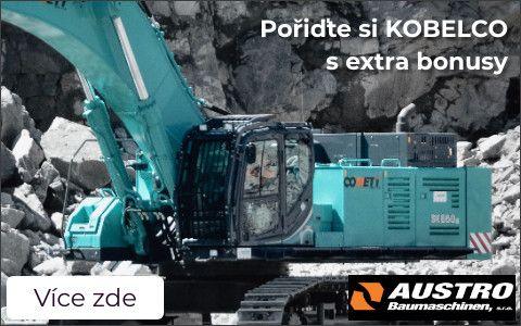 KOBELCO excavators with above-standard advantages
