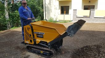 Satisfaction with CARRY 107 mini dumper