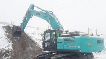 Kobelco SK350 do firmy IMOS Brno